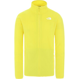 The North Face 100 Glacier Giacca con zip intera Uomo, tnf lemon